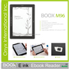 Boox M96 9.7 inch big e-ink display with stylus ideal for academics