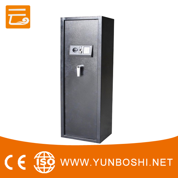 gun safe equipped electronic keypad