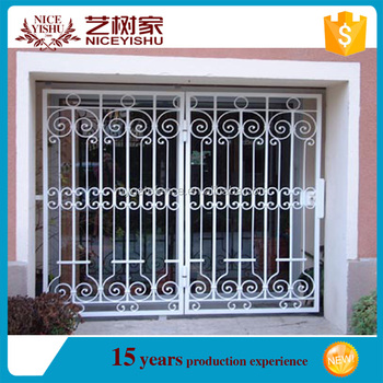 Alibaba New 2016 Graceful Cheap Stronger Durable Window Grill Design  Security By Customized With High Quality