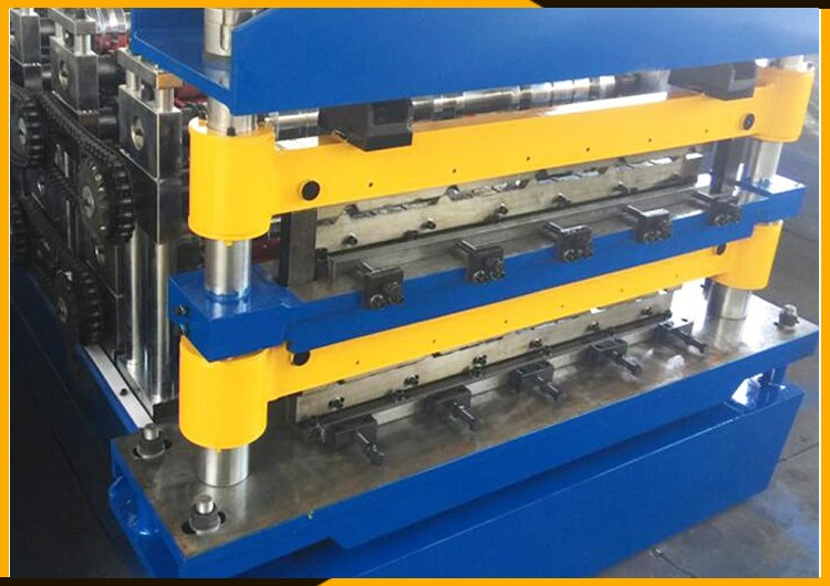 Roof Crimping Sheet Metal Roll Forming Machine Buy Roof