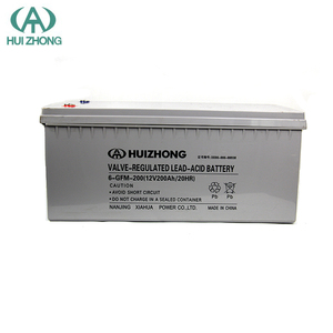 china manufacturer Deep cycle sealed lead acid 12v 200AH solar Gel battery