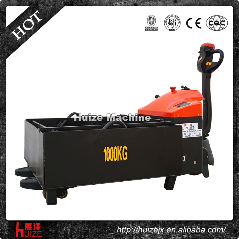 Low Profile 1t new Hydraulic rider pallet jack