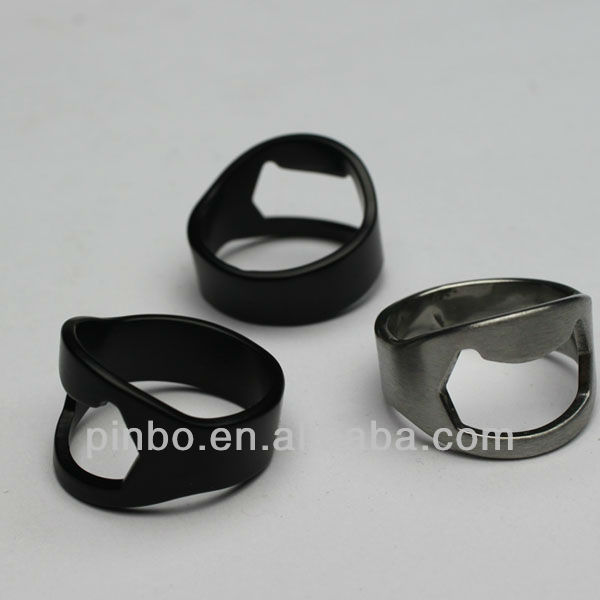 Metal Finger Ring Bottle Opener