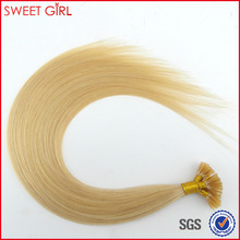 0.8 gram I-tip blonde color remy Russian hair