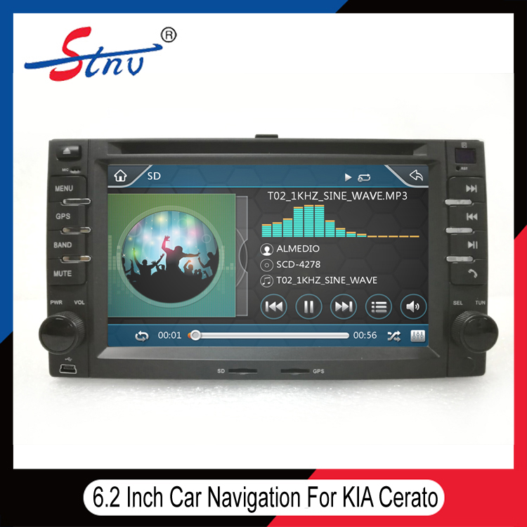 6.2 Inch Video Stereo For Cerato With Radio