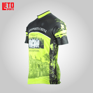 high quality china custom sublimation quick dry used cycling jersey custom blank cycling jersey