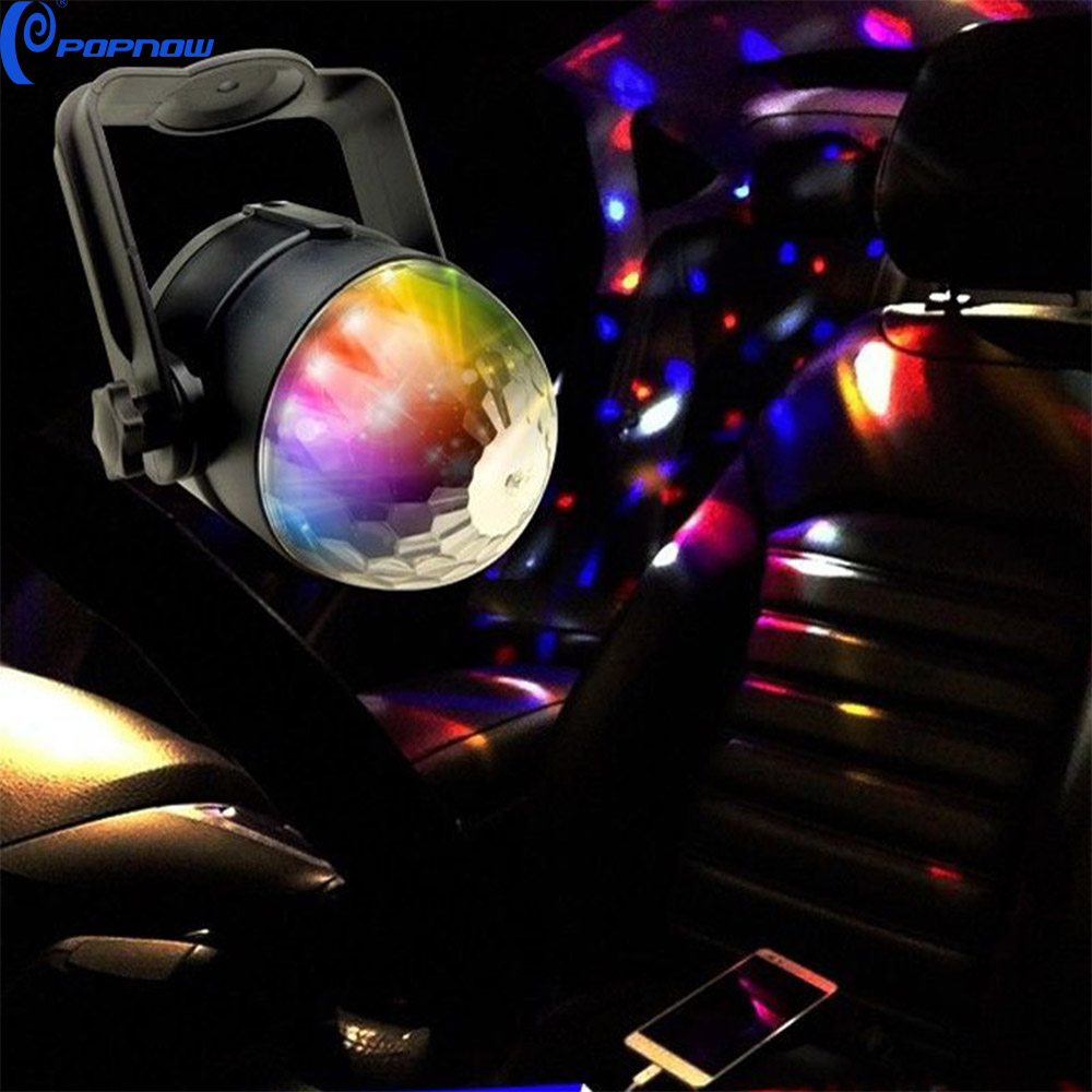Attractive Cool Car Music Dj Lights,Led Rhythm Strobe Light With Rgb Sound  Acticated Disco Ball - Buy Car Led Music Light,Led Rhythm Light,Dj Strobe