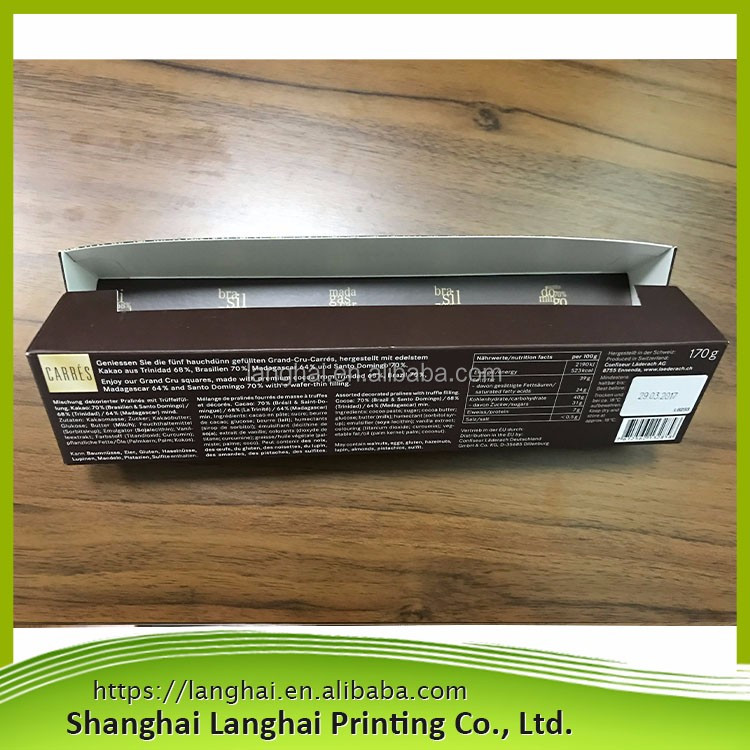 Box packging CMYK print high quality small best paper packages competitive price chocolate christmas gift box