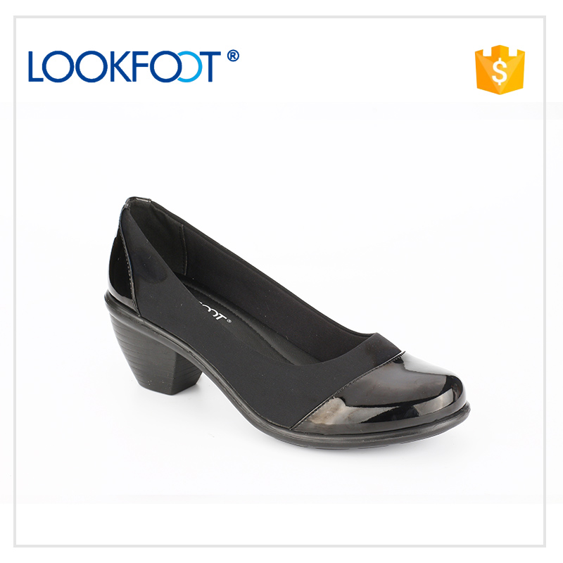 fully stocked Fashion trend latest women leather handmade pu shoes easy to walk