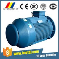 IEC standard three phase 75hp/150hp electric motors using teeth roller crusher