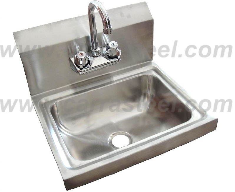 brushed finish stainless steel catering sink / stainless steel kitchen sink / sink bowl
