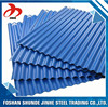 China supplier foshan wholesale corrugated metal material roofing sheet for construction material