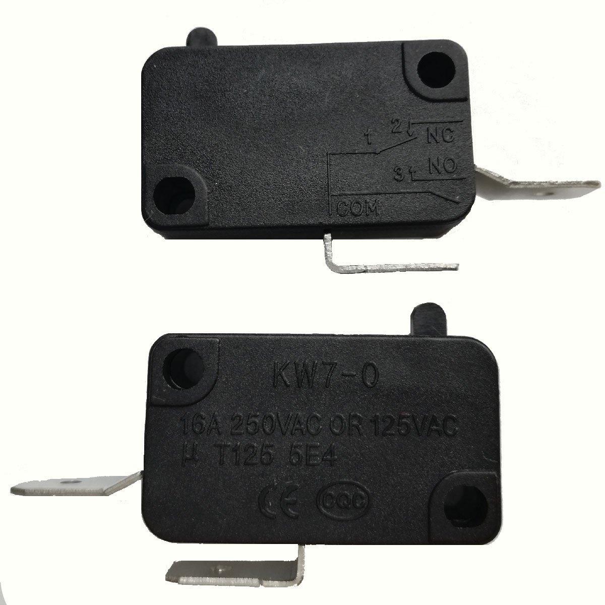 Buy 10pcs 16A 250VAC T125 5E4 Microswitch Micro Switch Sensitive ...