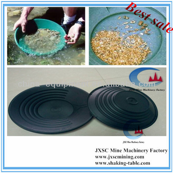 gold extraction machine gold panning dish