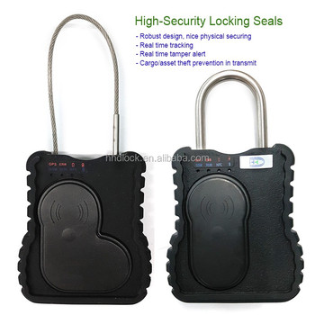Best Gps Container Tracking Lock With Remote Control Locking/unlocking