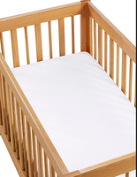 color cotton jersey Waterproof crib for baby Bed Bug Mattress Cover, all size