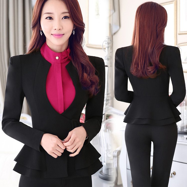 designer ladies pants suits