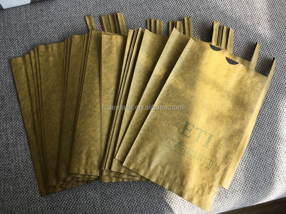 Popular Wholesale India Brown White Craft Paper Fruit Cultivation Bag For Mango