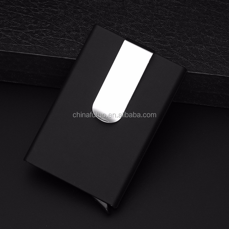 Black Automatic Business Card Holder - Buy Card Holder,Automatic ...