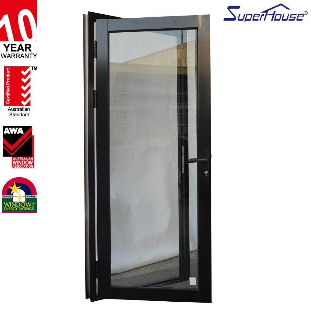 Single Glass Storefront Door commercial aluminium glass storefront single door exterior