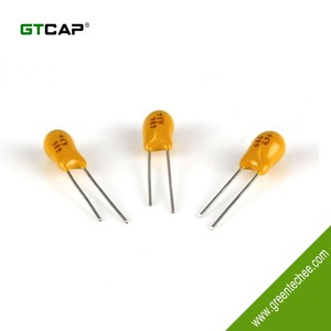 Price list of 68uf 25v tantalum capacitor
