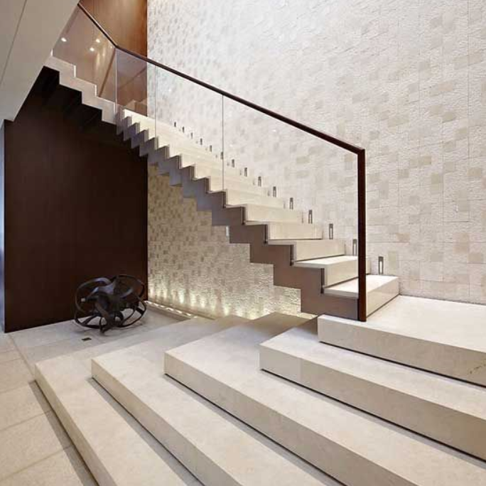 Elegant Beige Marble Stairs Design For Home Stairways Parts Of Stairway    Buy Marble Stairs Design,Parts Of Stairway,Stairs Design For Home Product  On ...