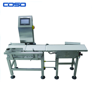High accuracy automatic check weigher machine with conveyor made in China