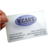 Design 3D Fashion Pvc Transparent Business Card With Free Shipping
