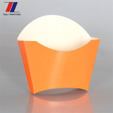 High quality custom potato fries packaging printed paper chip cups