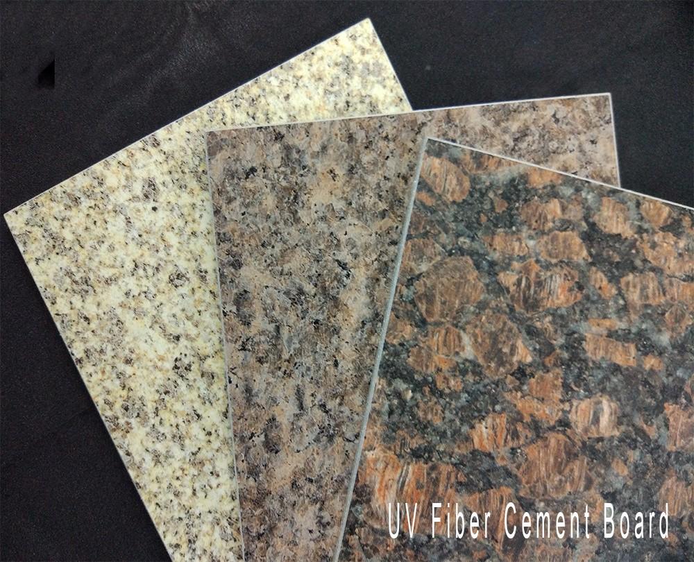 Decorative Uv Mdf Fiber Cement Panel Wall Board Buy