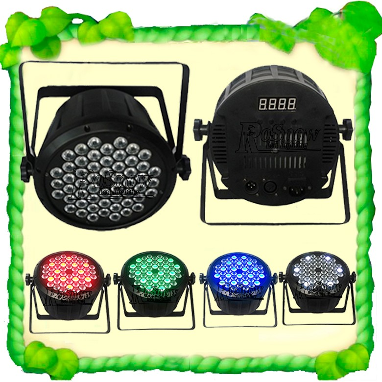 Dmx Rgbw Led Par64 Lighting For Stage Party Show 54x3w Led Stage ...