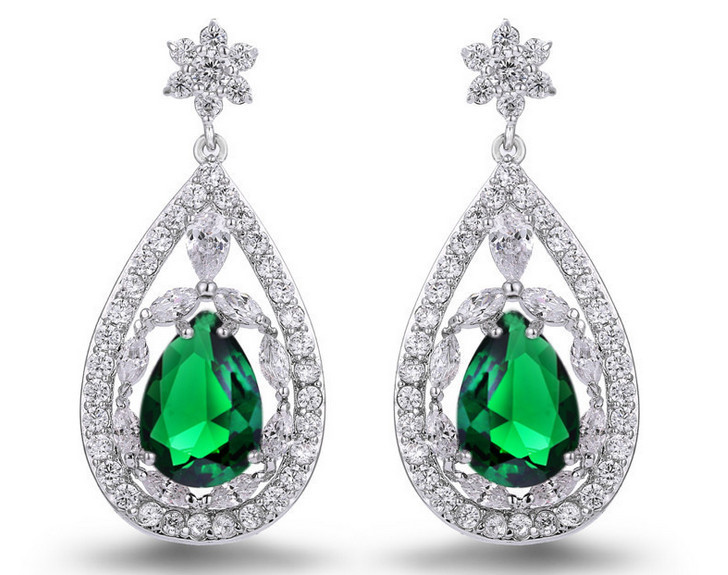 stone amazon green slp earrings com
