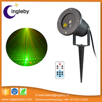 Waterproof IP65 outdoor mini laser stage lighting projector for christmas