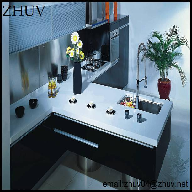 Hanging Kitchen Cabinet Design,Restaurant Kitchen Cabine,Marble ...