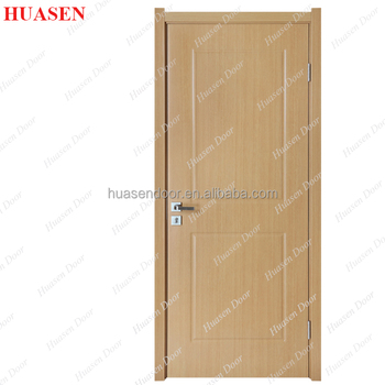 New Design Frameless Interior Toilet Pvc Door Specifications