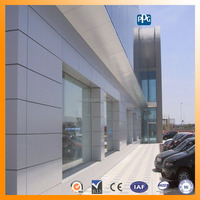 PANTON colors wall cladding ACP aluminium composite panel