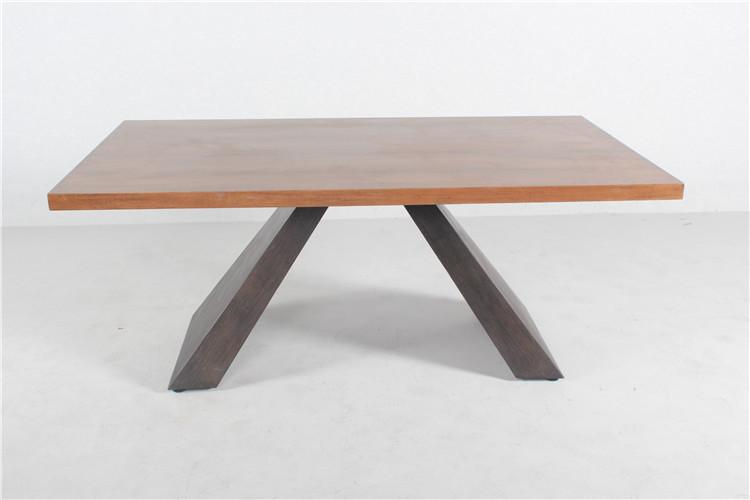 Heibei Bazhou Future Furniture Factory Newest Design Wooden Dining