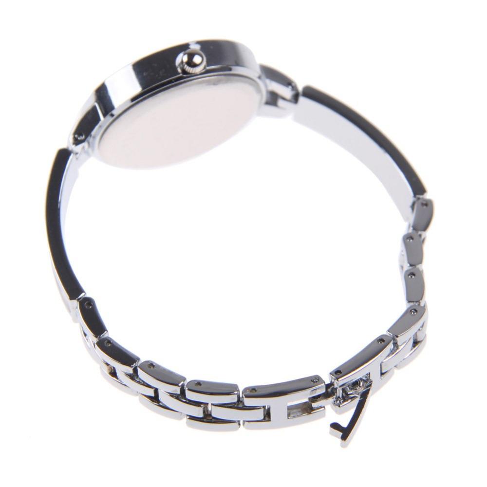 Новые метал группа мода свободного покроя женщины часы элегантный браслет часы женщины роскошные стали кварцевые часы час 2-east