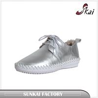 2017 new shoe fashion flat sport leather boy / men canvas casual shoe