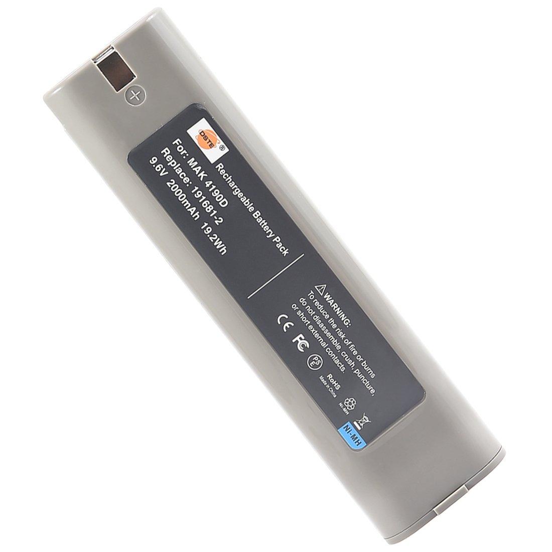 DSTE Ni-MH Power Tool Battery for Makita 191681-2 632007-4 9000 9001 9002 9033 9600