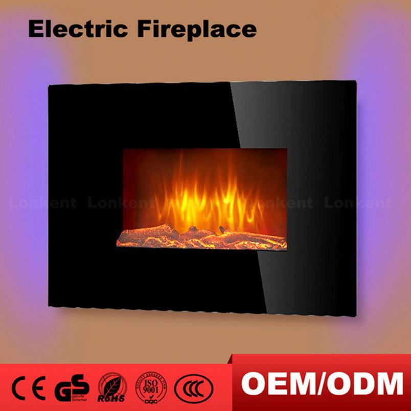 Best Quality Promotional Ceiling Hot Sale Wall Mounted Led Electric Fireplace