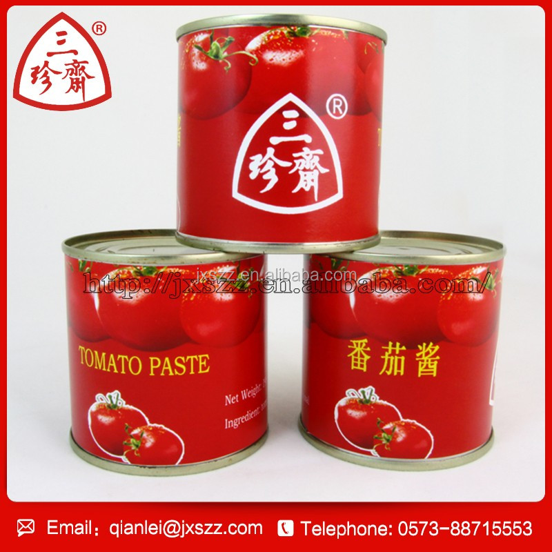 HACCP Certification high quality canned tomato paste
