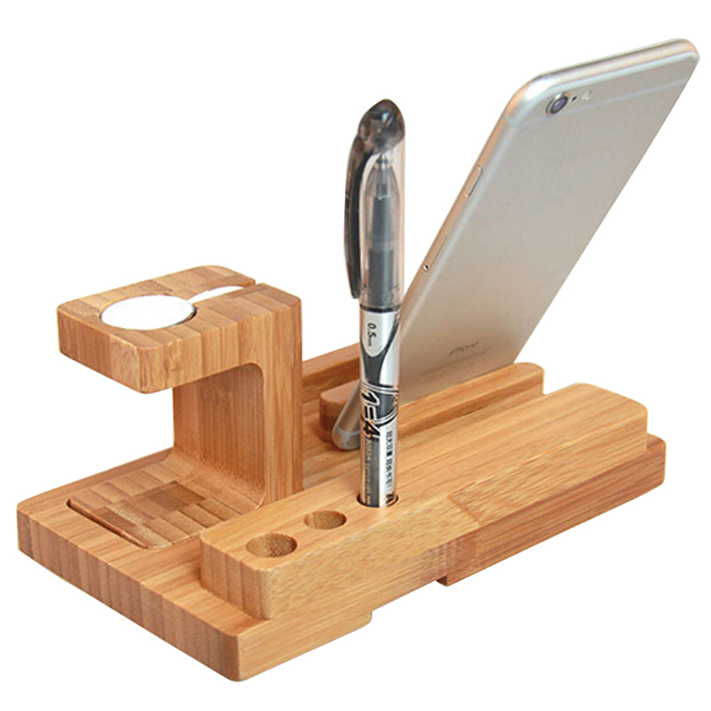 Hot selling wooden watch stand for apple watch,for apple watch Wood Charging Stand