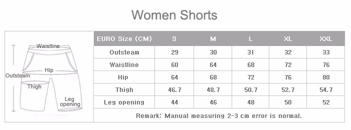 2016 Casual tight shorts black dri fit women gym pants