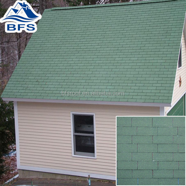Durable Color Customized Affordable three tab composition shingles