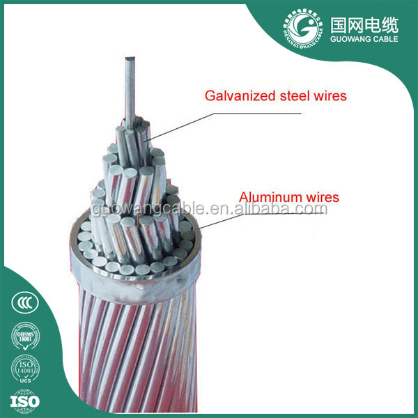 Electrical Wiring Aluminum Alloy Conductor Steel Reinforced Aacsr 10/2