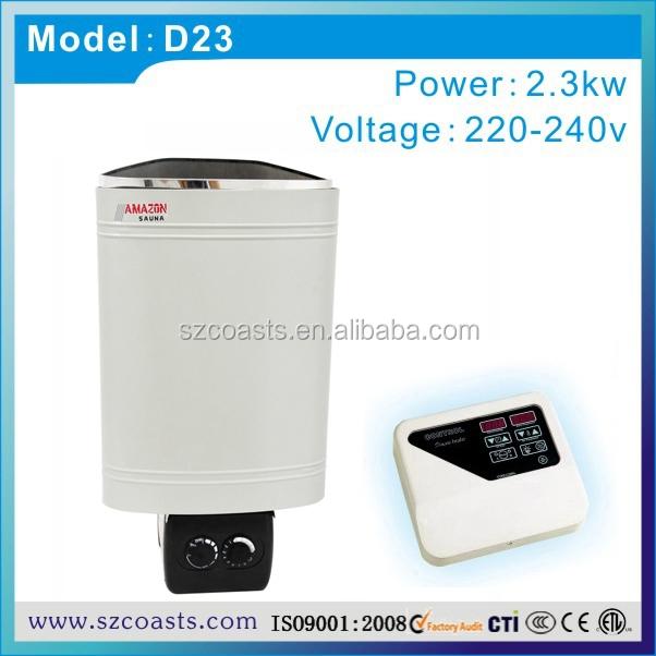 Heirva sauna equipamentos 2.3KW 3.6KW 220 - 240 V mini sauna aquecedor banho a944bc9fb0