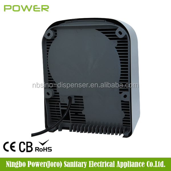 bathroom infrared sensitive fast dry hand dryer