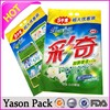 Yason plastic bag blank grip seal bags with euro and circular hole chicken things