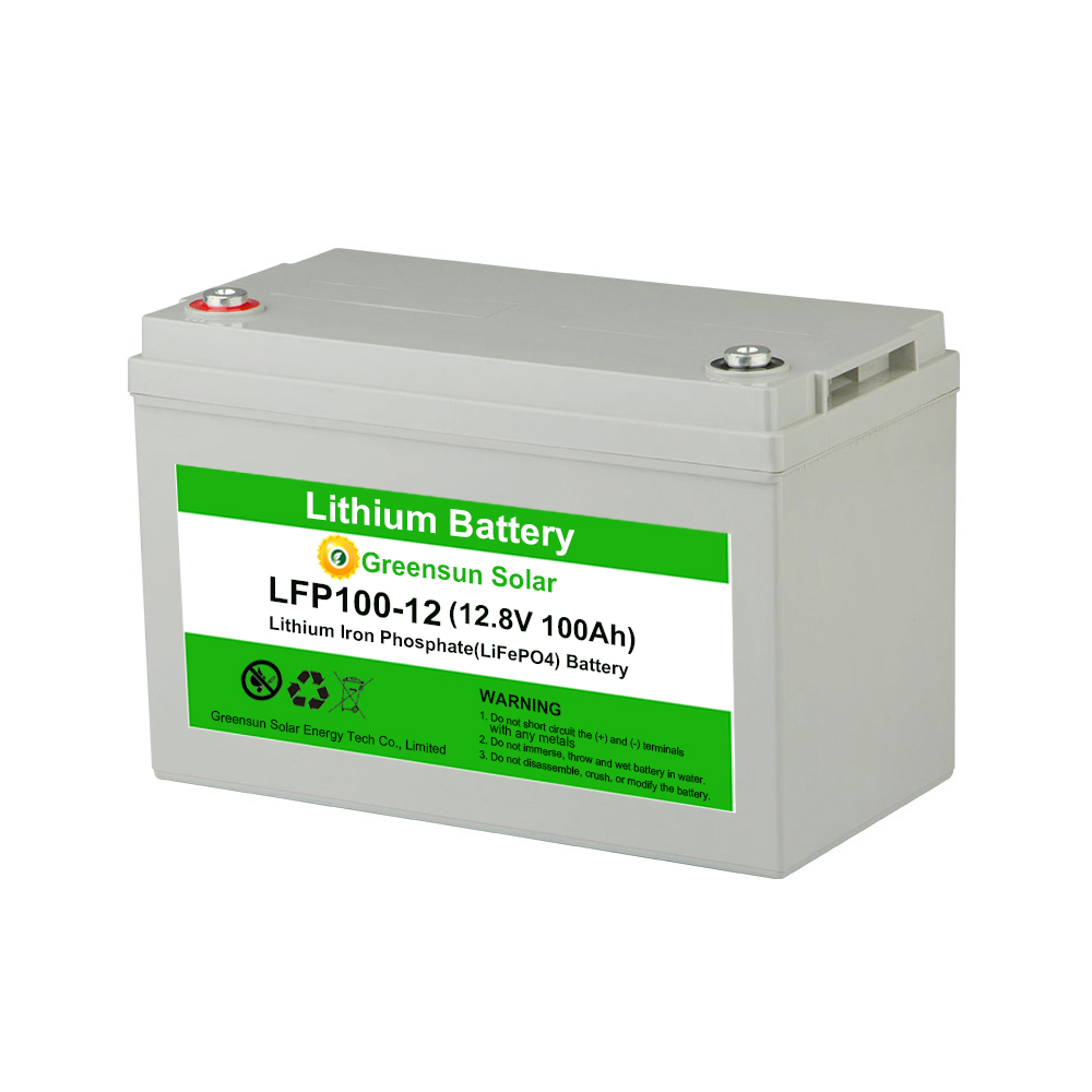 Deep Cycle 충전식 리튬 이온 Lifepo4 12 V 100Ah 150ah 200ah Lithium Battery